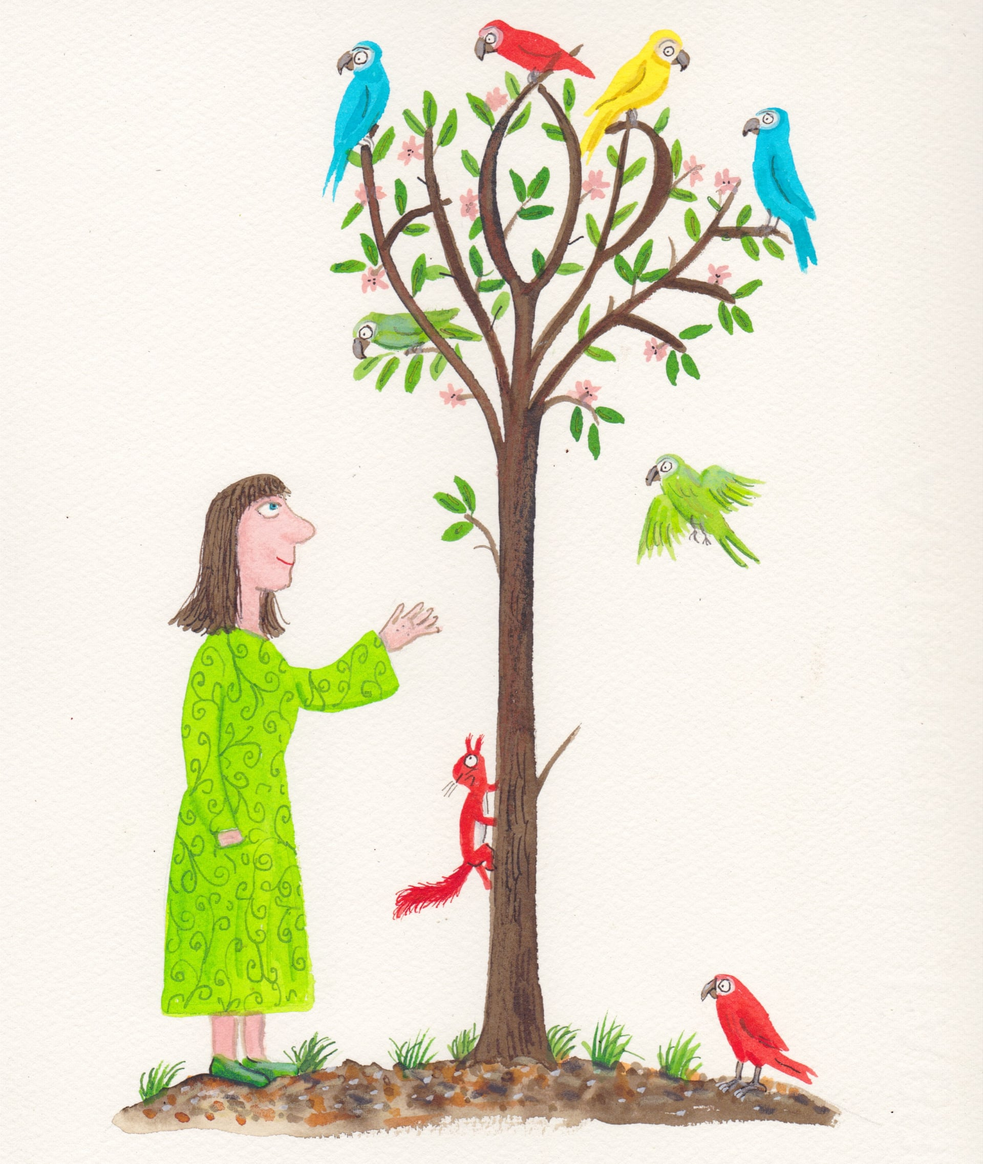The Hope Tree, Axel Scheffler, 2020